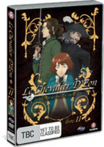 Le Chevalier D'Eon - Livre 2: Agen Provocateur on DVD