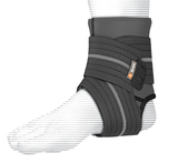 Shock Dr Ankle Sleeve with Compression Wrap (Large)