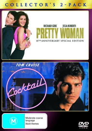 Pretty Woman / Cocktail - Collector's 2-Pack (2 Disc Set) on DVD image