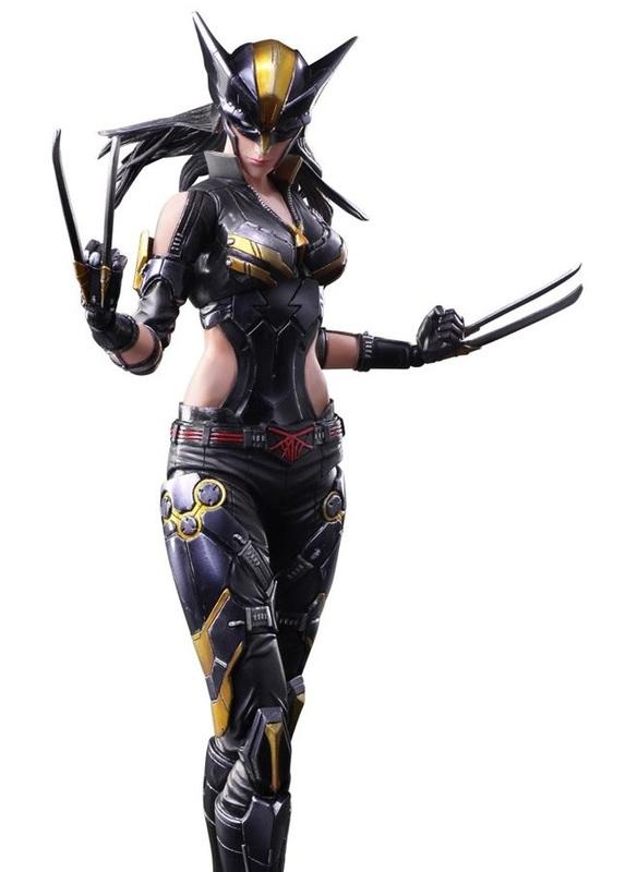 Marvel Universe: X-23 - Variant Play Arts Kai Figure