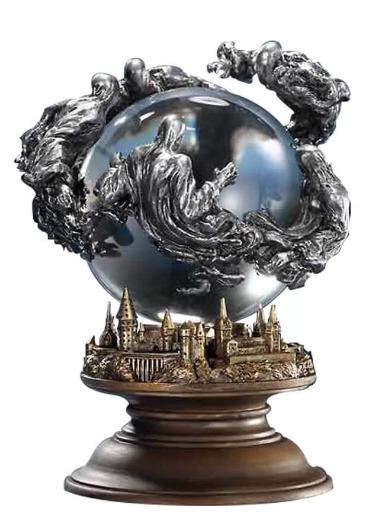 "Harry Potter: 12"" Statuette - Dementor's Crystal Ball"