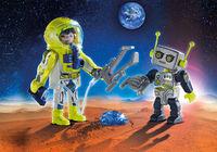 Playmobil: Space - Astronaut & Robot Duo Pack (9492)