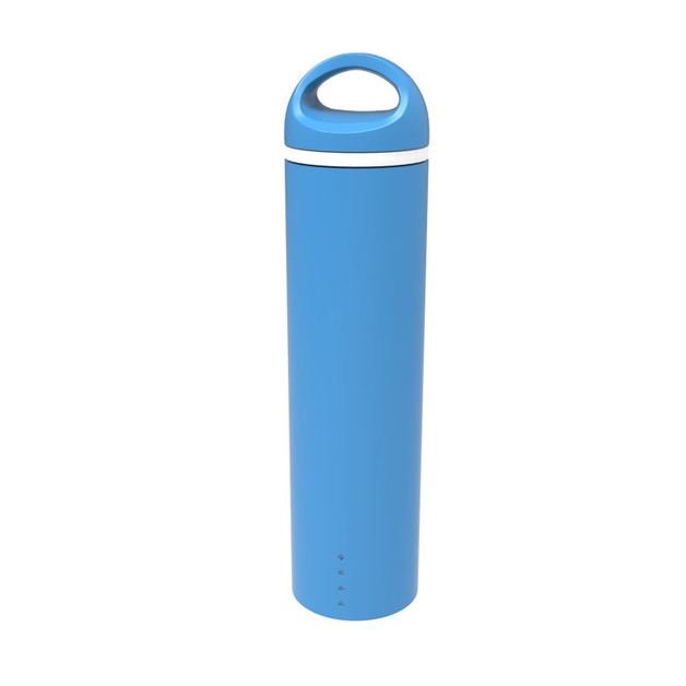 Round Tube 2500 mAh Power Bank with 3 in 1 Cable