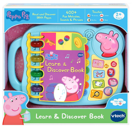 Vtech: Peppa Pig - Learn & Discover Book image