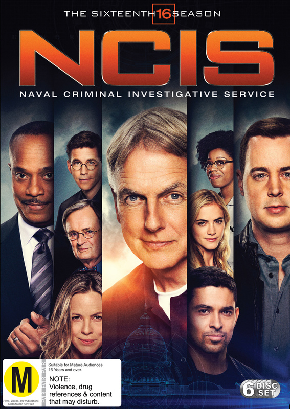 NCIS: The Complete Sixteenth Season on DVD