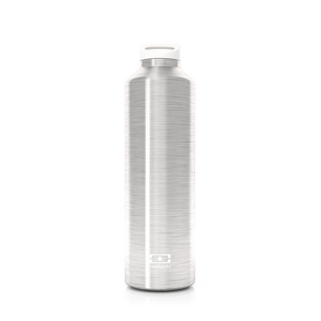 Monbento: Steel Insulated Bottle (Silver)