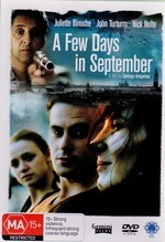 A Few Days In September on DVD