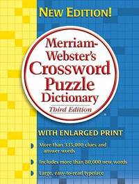 Merriam Webster's Crossword Puzzle Dictionary image