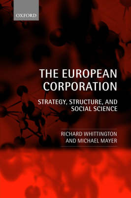 The European Corporation by Richard Whittington