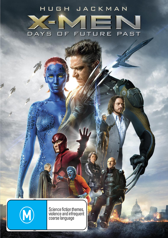 X-Men: Days of Future Past on DVD