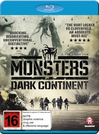 Monsters: Dark Continent on Blu-ray
