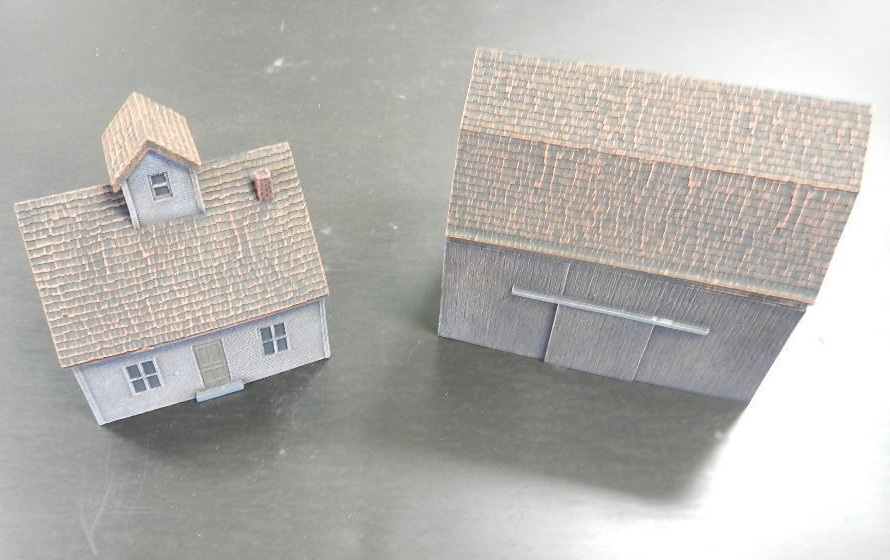 Flames of War: Farm House & Barn - Reims image