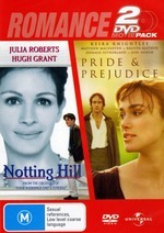 Notting Hill / Pride and Prejudice :- Double the Romance Double the Value! on DVD