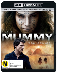 The Mummy (2017) on UHD Blu-ray