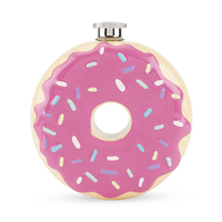 TrueZoo: Donut - Novelty Flask