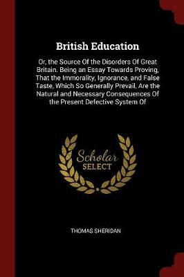 British Education by Thomas Sheridan
