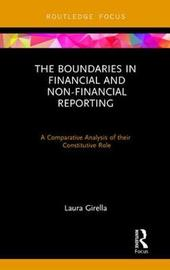 The Boundaries in Financial and Non-Financial Reporting by Laura Girella