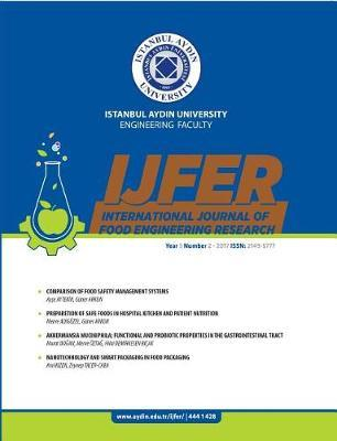 International Journal of Food Engineering Research