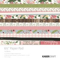 """Kaisercraft: 6.5"""" Paper Pack - Full Bloom"""