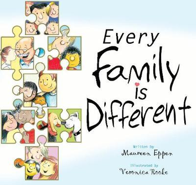 Every Family is Different by Maureen Eppen