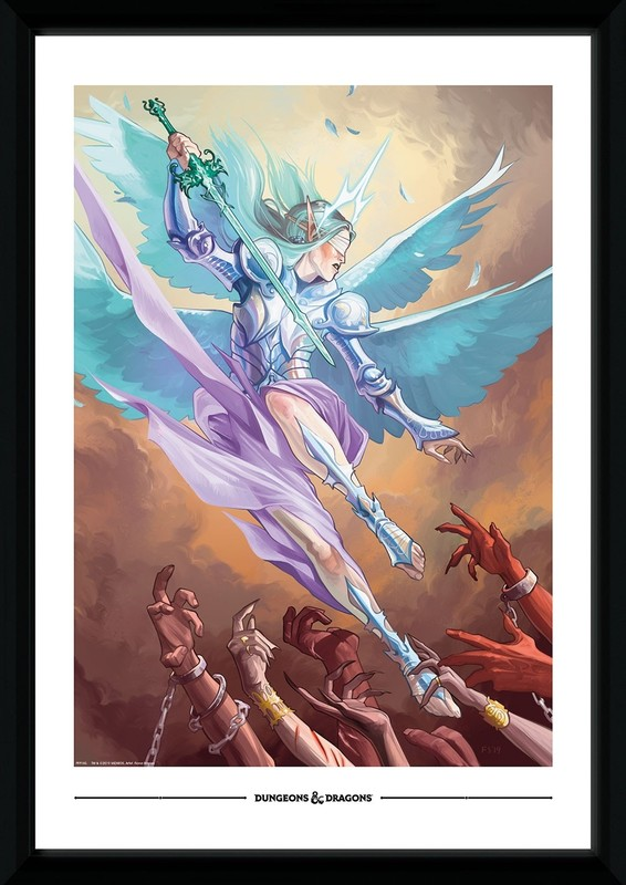 Dungeons and Dragons: Angel - Collector Print (50x70cm)