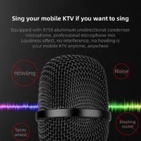 Karaoke Wireless Bluetooth Microphone for Android/iPhone/PC - Black