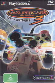 V8 Supercars 3 + Controller for PlayStation 2 image