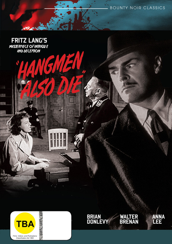 Hangmen also Die on DVD