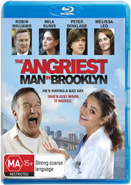 The Angriest Man in Brooklyn on Blu-ray