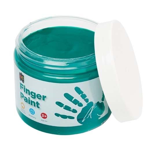EC Colours - 250ml Finger Paint - Green image