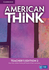 American Think Level 2 Teacher's Edition: Level 2 by Brian Hart