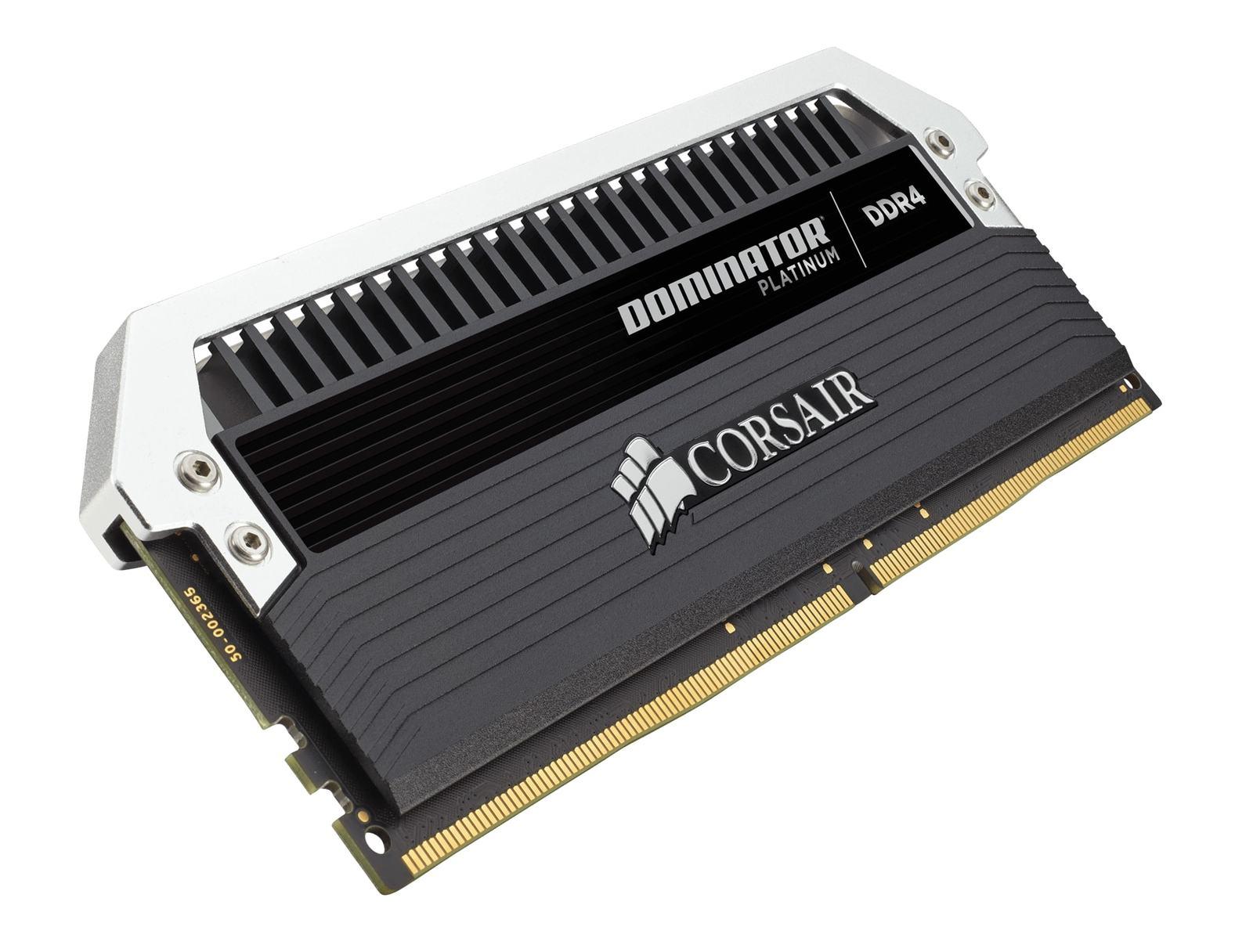 8GB Corsair Dominator Platinum Series (2 x 4GB) DDR4 DRAM 3200MHz C16 Memory Kit image