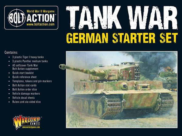 Tank War: German Starter Set image