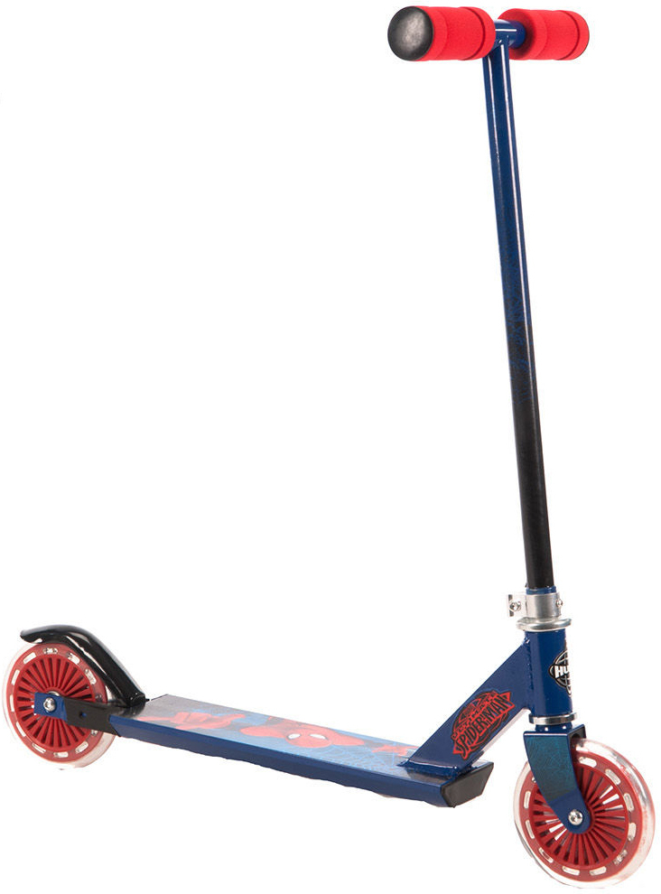Huffy: Spiderman - Alloy Inline Scooter image