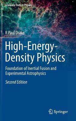High-Energy-Density Physics by R Paul Drake image