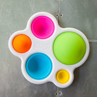 Fat Brain Toys: Dimpl - Colourful Sensory Toy