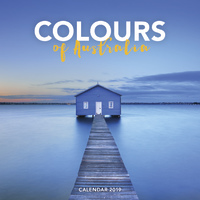 Colours of Australia 2019 Square Wall Calendar