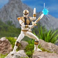 """Power Rangers: Lightning Collection 6"""" Action Figure - Mighty Morphin White Ranger image"""