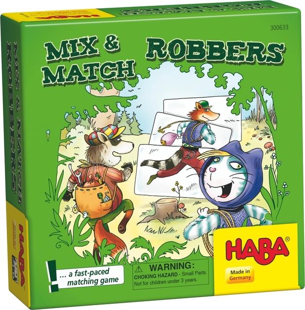 Mix & Match Robbers - Children's Game