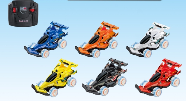Rusco: 1:24 Scale Mini Enforcer - RC Light Up Buggy (Assorted Designs)
