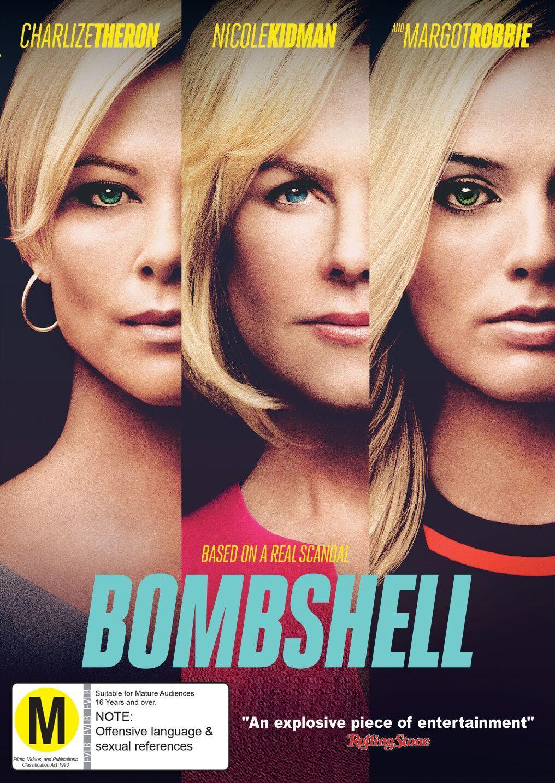 Bombshell on DVD image
