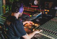 Audio Technica M50X Studio Closed Back Headphone Limited Edition Purple image