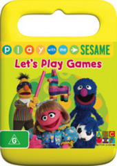 Play With Me Sesame - Let's Play Games on DVD