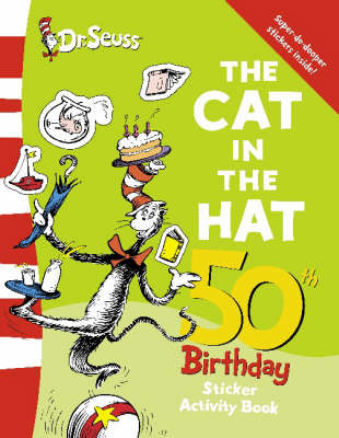 The Cat in the Hat Sticker Book by Dr Seuss
