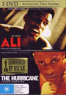 Ali/ Hurricane on DVD
