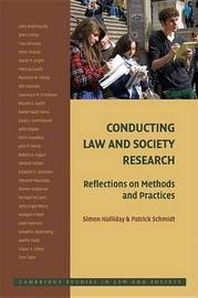 Cambridge Studies in Law and Society by Simon Halliday image