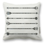 The Rise and Fall: New Arrows Pillow