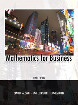 Mathematics for Business by Stanley A. Salzman