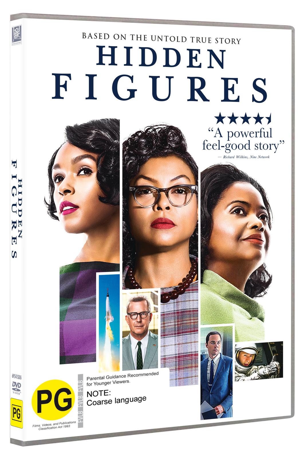 Hidden Figures on DVD image
