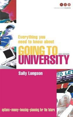 Everything You Need to Know About Going to University by Sally Longson image